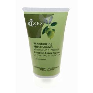 Hand Cream Rizes Crete Moisturizing Hand Cream with Olive Oil* & Vitamin E