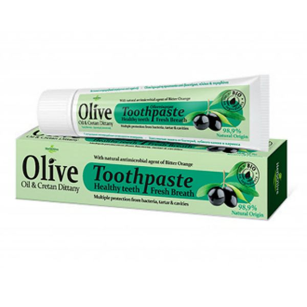 Face Care HerbOlive Toothpaste with Cretan Dittany