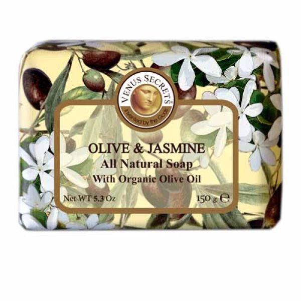 Regular Soap Venus Secrets Triple-Milled Soap Olive & Jasmine (Wrapped)