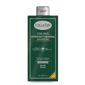 Men Care Kalliston Strengthening Shampoo with Laurel & Biotin