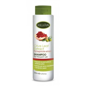 Hair Care Kalliston Shampoo for Frequent Use with Pomegranate Extract