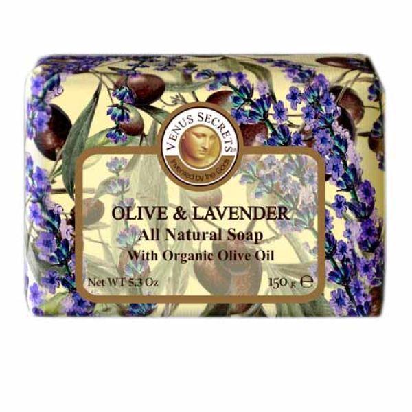 Regular Soap Venus Secrets Triple-Milled Soap Olive & Lavender (Wrapped)