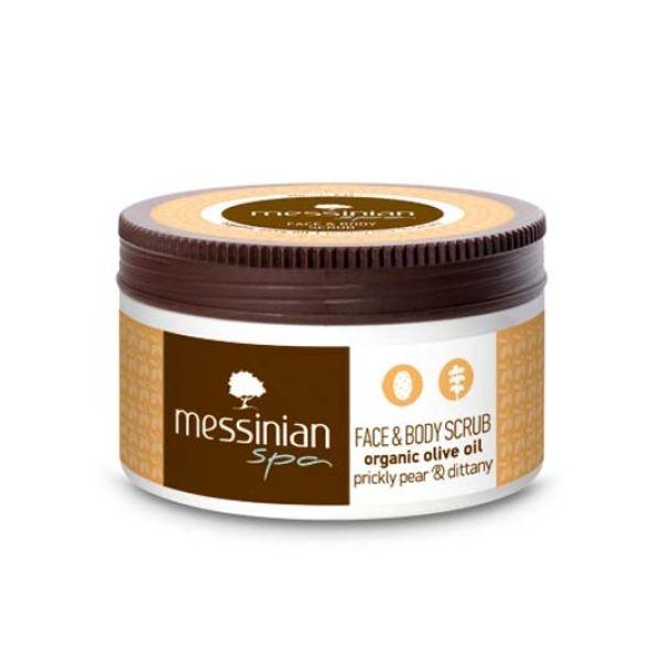 Body Care Messinian Spa Face & Body Scrub  Pricly Pear & Dittany