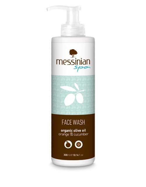 Καθαρισμός Προσώπου Messinian Spa Καθαριστικό Προσώπου Πορτοκάλι & Αγγούρι