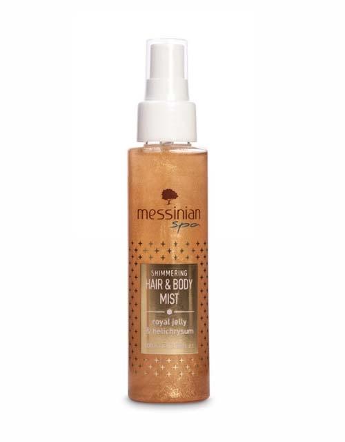 Body Mist Messinian Spa Hair & Body Mist Βασιλικός Πολτός & Ελίχρυσος
