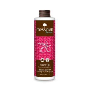 Hair Care Messinian Spa Shampoo for Dyed – Damaged Hair Pomegranate & Grape