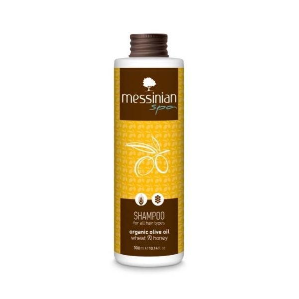 Hair Care Messinian Spa Shampoo for All Types Wheat & Honey