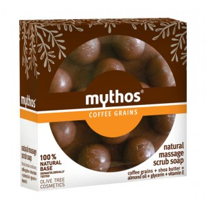 Massage Soap Mythos Massage Scrub Soap Coffee Grains