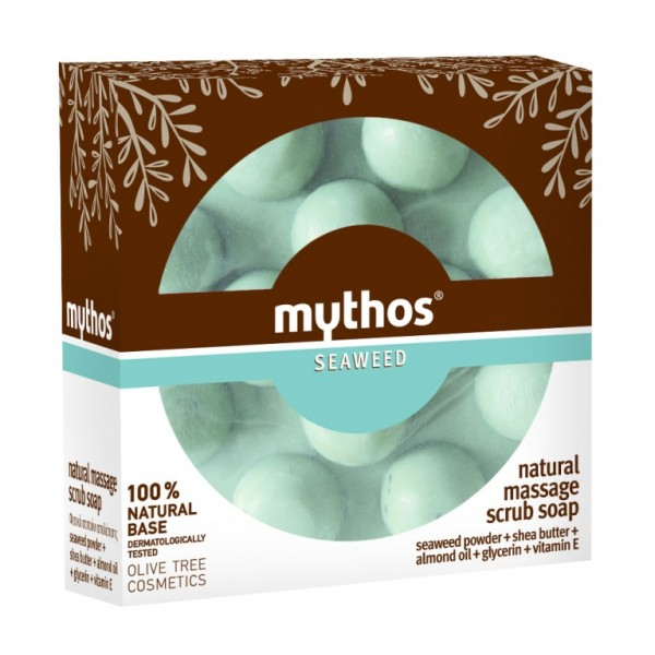 Massage Soap Mythos Massage Scrub Soap Seaweed