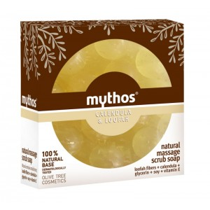 Massage Soap Mythos Massage Scrub Soap Calendula & Loofah