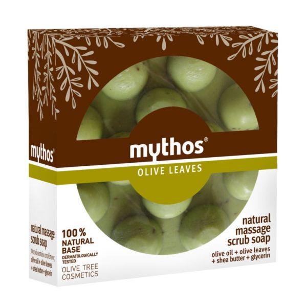 Massage Soap Mythos Massage Scrub Soap Olive Leaves
