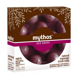 Massage Soap Mythos Massage Scrub Soap Red Grape
