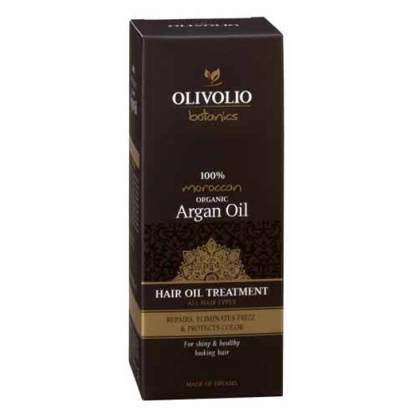 Ορός Μαλλιών Olivolio Θεραπεία Μαλλιών με Λάδι Αργκάν