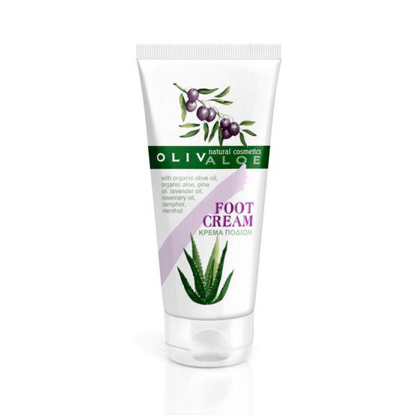 Foot Cream Olivaloe Foot Cream with Organic Olive Oil