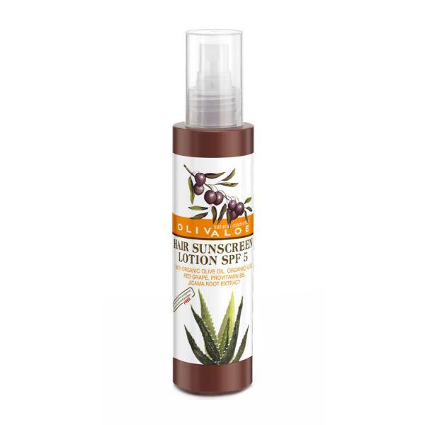 Λάδι Μαλλιών Olivaloe Αντηλιακή Λοσιόν Μαλλιών Προστασίας SPF 5