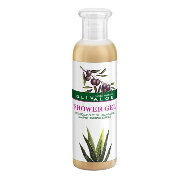 Body Care Olivaloe Organic Aloe Shower Gel