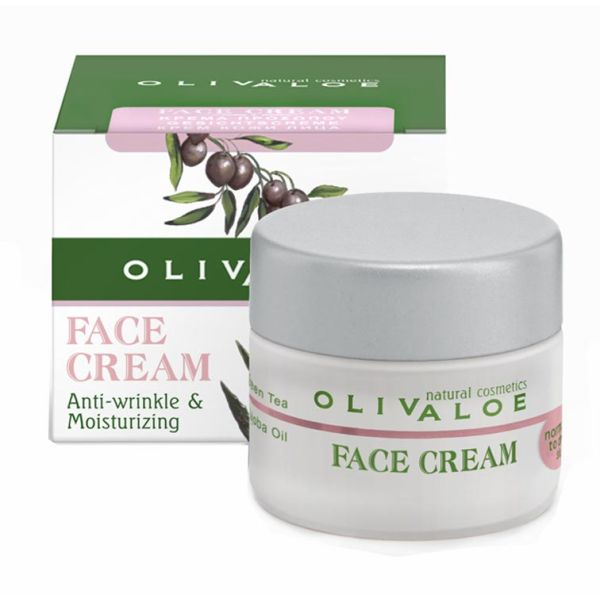 Face Care Olivaloe Face Cream for Normal to Dry Skin