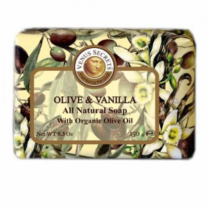 Regular Soap Venus Secrets Triple-Milled Soap Olive Extracts (Wrapped)