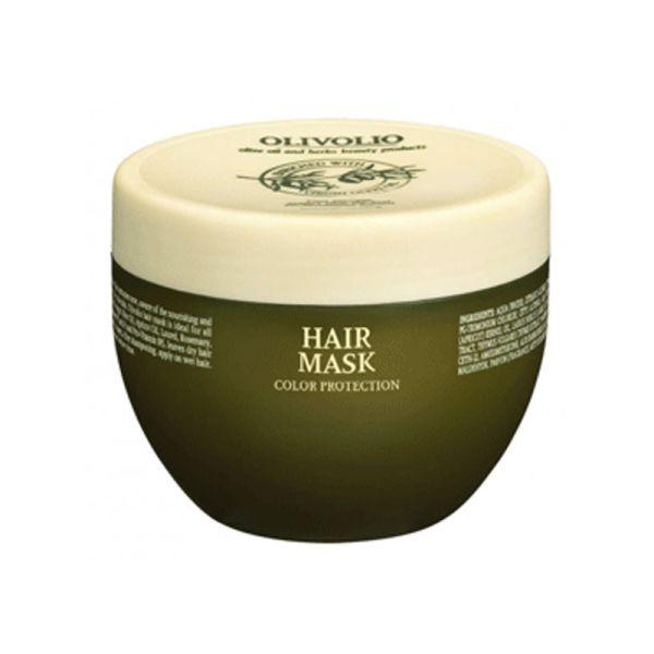 Μάσκα Μαλλιών Olivolio Μάσκα Μαλλιών για Προστασία Χρώματος