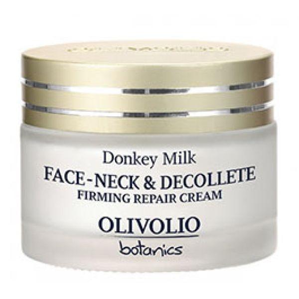 Ενυδατική Olivolio Κρέμα για Πρόσωπο Λαιμό Ντεκολτέ με Γάλα Γαϊδούρας