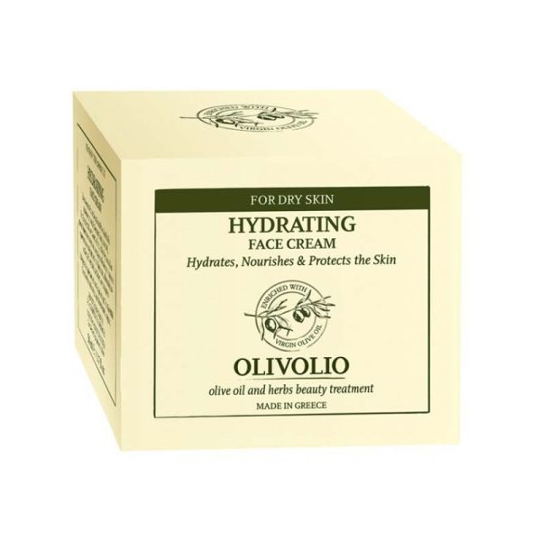 Face Care Olivolio Hydrating Face Cream for Dry-Dehydrated Skin