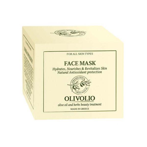 Μάσκα Προσώπου Olivolio Ενυδατική – Θρεπτική – Αναζοωγονιτική Μάσκα Προσώπου