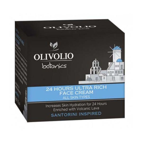 Face Care Olivolio Volcanic Lava 24hours Ultra Rich Face Cream