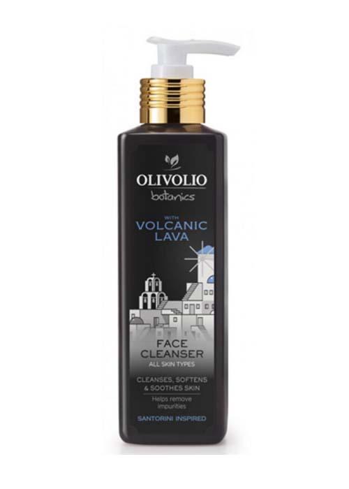 Καθαρισμός Προσώπου Olivolio Καθαριστικό Προσώπου με Ηφαιστειακή Λάβα