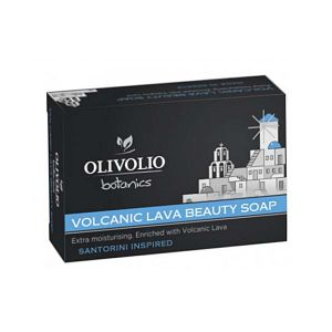 Facial Soap Olivolio Volcanic Lava Beauty Soap