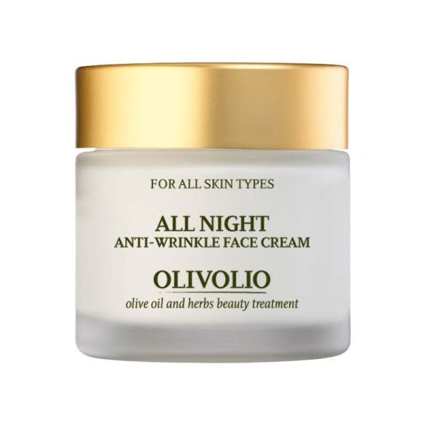 Face Care Olivolio Anti-wrinkle Night Cream