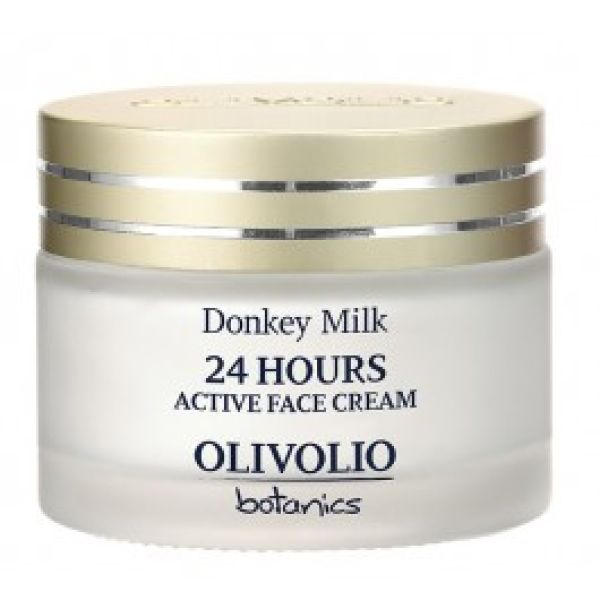 Ενυδατική Olivolio 24ωρη Κρέμα Προσώπου με Γάλα Γαϊδούρας