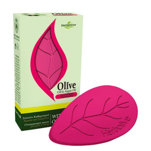 Regular Soap HerbOlive Leaf Soap with Pomegranate