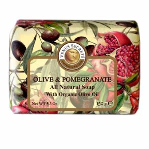 Regular Soap Venus Secrets Triple-Milled Soap Olive & Pomegranate (Wrapped)