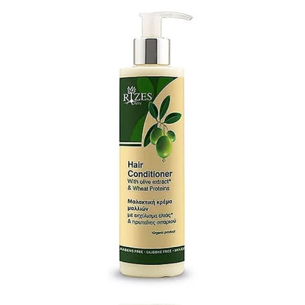 Conditioner Rizes Crete Hair Conditioner with Olive* Extract & Wheat Proteins