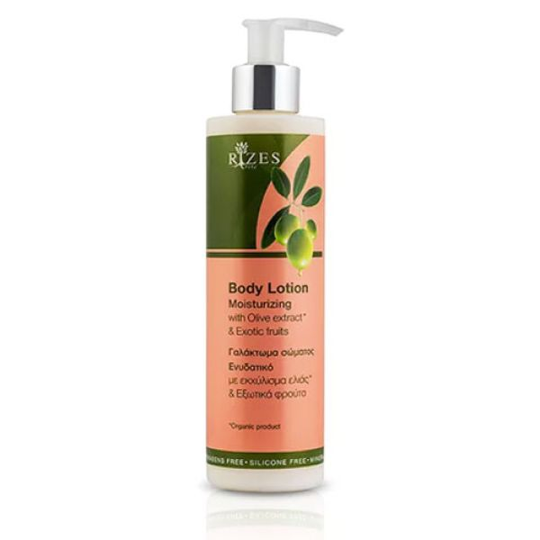 Body Care Rizes Crete Moisturizing Body Lotion with Olive Oil* & Exotic Fruits