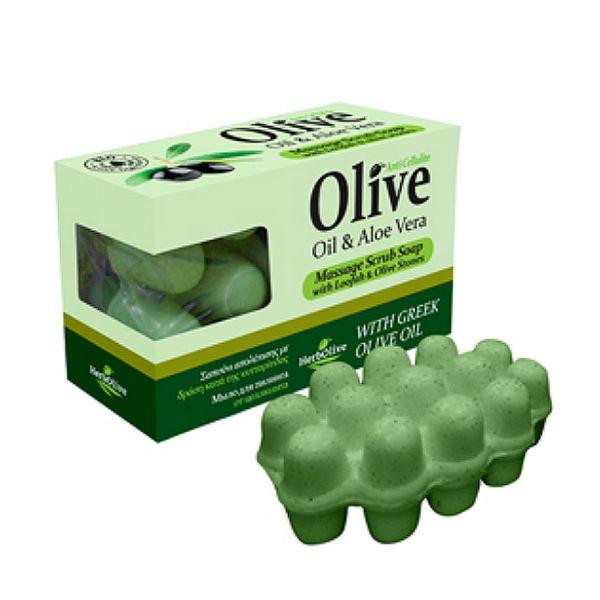 Massage Soap HerbOlive Massage Soap with Aloe Vera
