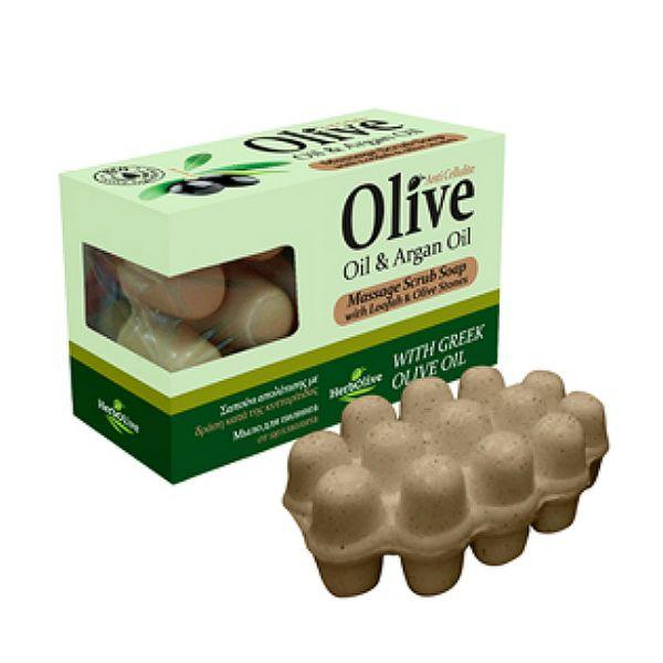 Massage Soap HerbOlive Massage Soap with Argan Oil