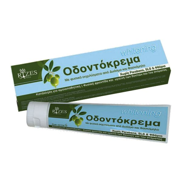 Face Care Rizes Crete Toothpaste Whitening