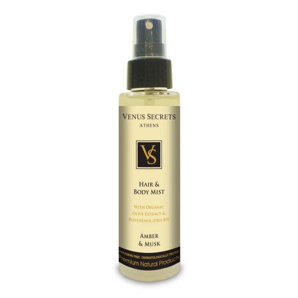 Body Care Venus Secrets Hair & Body Mist Spray Amber & Musk