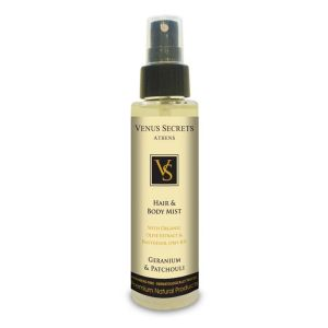 Hair Care Venus Secrets Hair & Body Mist Spray Geranium & Patsouli