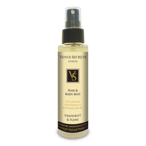 Hair Care Venus Secrets Hair & Body Mist Spray Grapefruit & Ylang