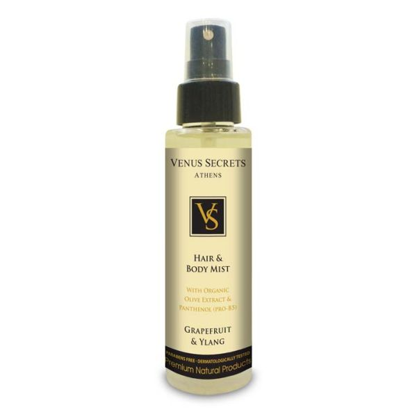 Body Care Venus Secrets Hair & Body Mist Spray Grapefruit & Ylang