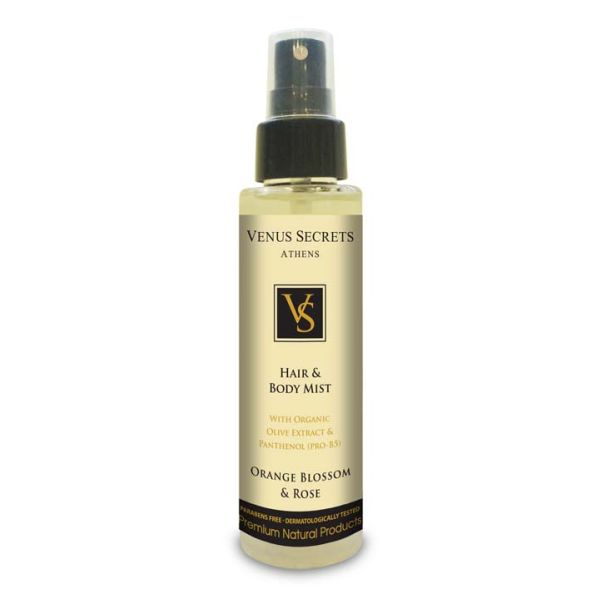 Body Care Venus Secrets Hair & Body Mist Spray Orange Blossom & Rose