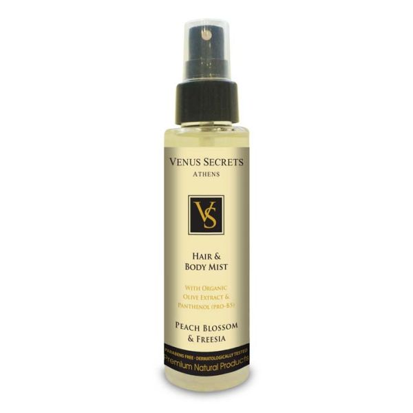 Hair Care Venus Secrets Hair & Body Mist Spray Peach Blossom & Freesia