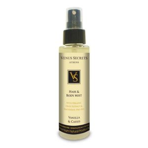 Hair Care Venus Secrets Hair & Body Mist Spray Vanilla & Cassis