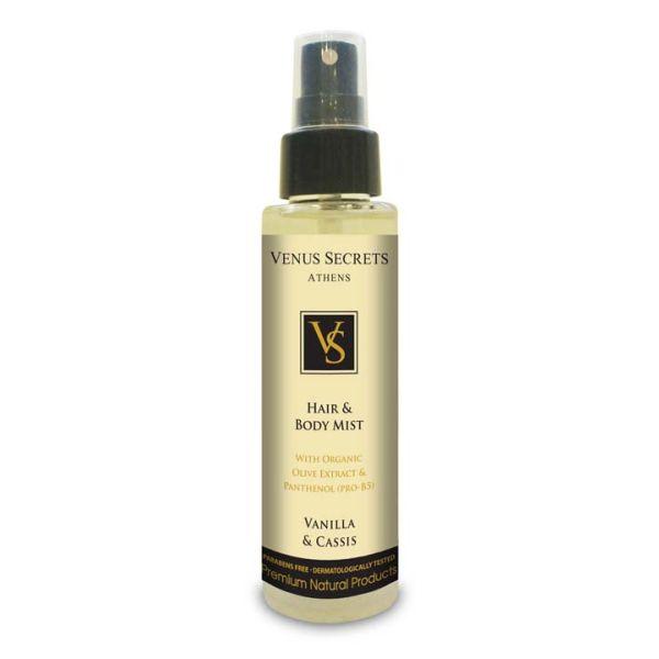 Body Care Venus Secrets Hair & Body Mist Spray Vetiver & Iris
