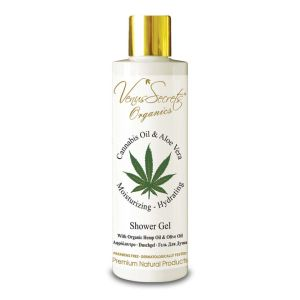 Body Care Venus Secrets Organics Cannabis Oil & Aloe Vera Shower Gel