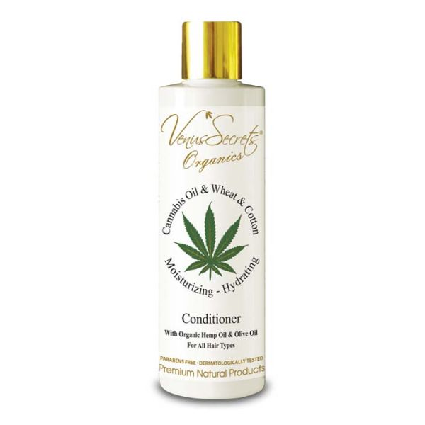 Conditioner Venus Secrets Organics Cannabis Oil & Wheat Conditioner