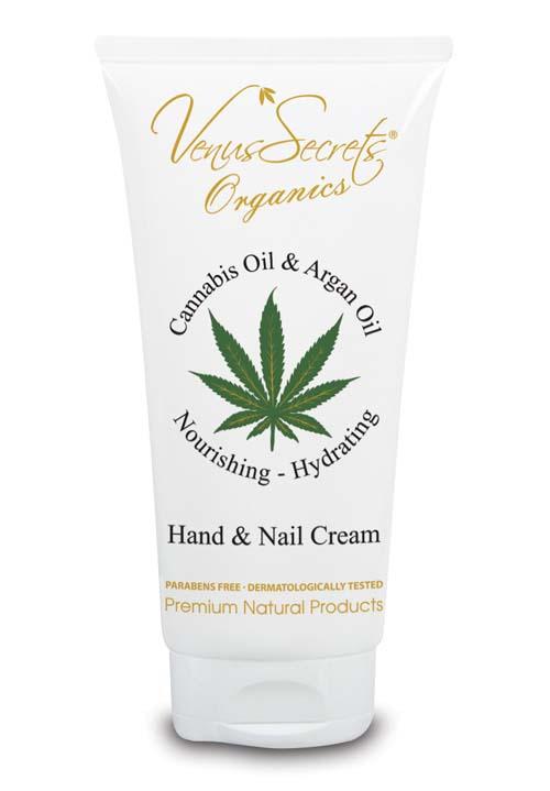 Κρέμα Χεριών Venus Secrets Organics Έλαιο Κάνναβης & Αργκάν Κρέμα Χεριών & Νυχιών
