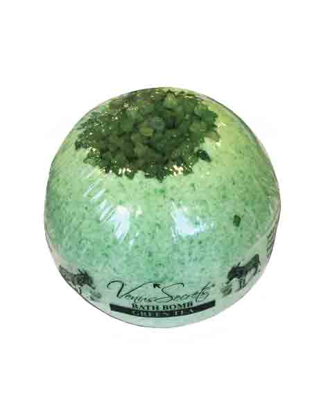 Bath Bomb Venus Secrets Γάλα Γαϊδούρας Bath Bomb Πράσινο Τσάι